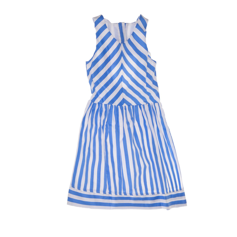 1bd0e804c7b SAM 0-13 - Παιδικό αμάνικο φόρεμα για μεγάλα κορίτσια SAM 0-13 ριγέ