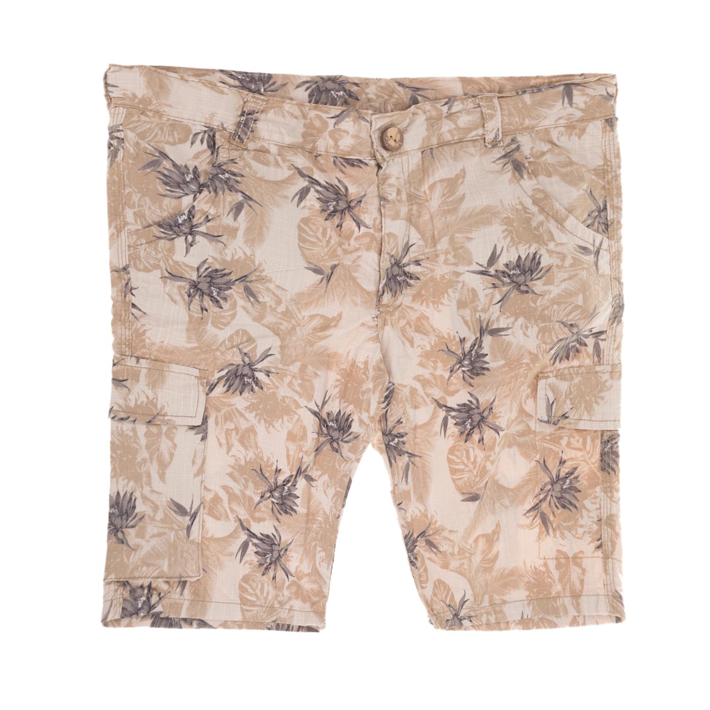 eb61f141200 Factoryoutlet SAM 0-13 - Παιδικό κοντό παντελόνι για μεγάλα αγόρια SAM 0-13  εμπριμέ