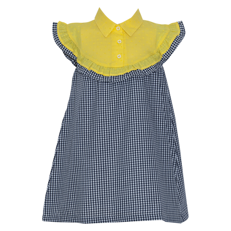 a39a1e2a375 SAM 0-13 - Παιδικό φόρεμα για μικρά κορίτσια SAM 0-13 καρό