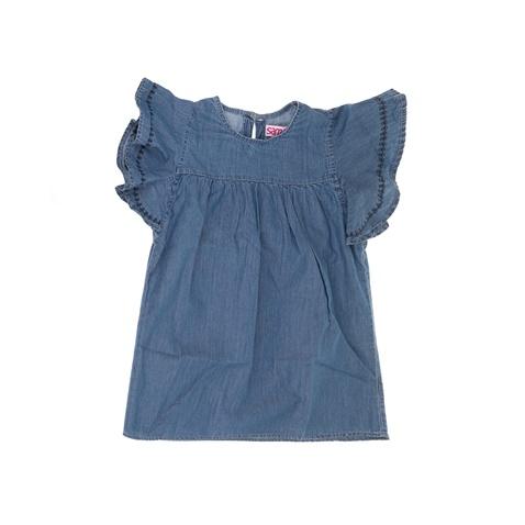 1ce7b7b9cb6 Παιδικό τζιν φόρεμα με βολάν SAM 0-13 μπλε (1747505.0-j200) | Factory Outlet
