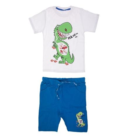aaf3602ccaf Παιδικό σετ ΔΕΙΝΟΣΑΥΡΟΣ για μικρά αγόρια SAM 0-13 λευκό-μπλε  (1747511.0-2291) | Factory Outlet