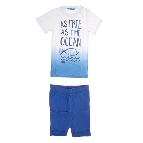 6ee3ad21799 Παιδικό σετ για μικρά αγόρια SAM 0-13 λευκό-μπλε (1747513.0-9122) | Factory  Outlet