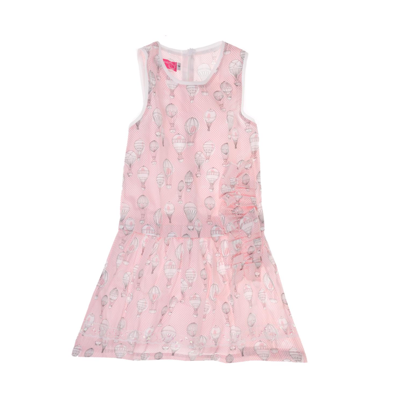 f48d8cf698d SAM 0-13 - Παιδικό αμάνικο φόρεμα για μικρά κορίτσια SAM 0-13 ροζ