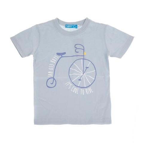 8cc1306e57bf Παιδική κοντομάνικη μπλούζα για μικρά αγόρια SAM 0-13 γαλάζια  (1747604.0-3300)   Factory Outlet