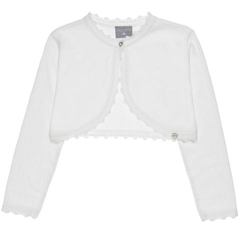 0bd52e1ae2b Παιδική ζακέτα μπολερό για κορίτσια alouette λευκή (1748280.0-9100) |  Factory Outlet