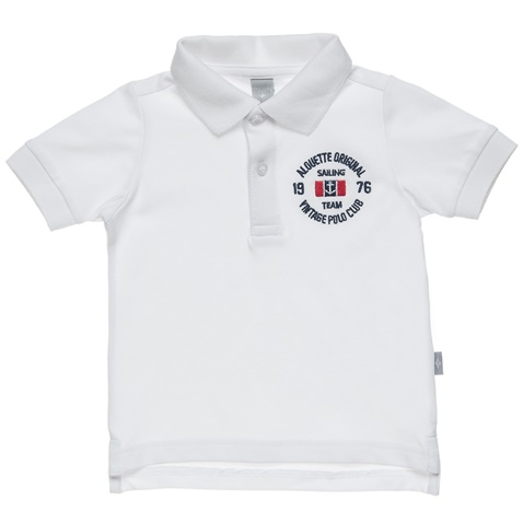 d4ad4199f5ba Παιδικό πόλο t-shirt alouette λευκό (1748304.0-9100) | Factory Outlet