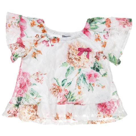 2a1ffc6de630 Παιδική κοντομάνικη μπλούζα για κορίτσια alouette φλοράλ (1748335.0-l001)