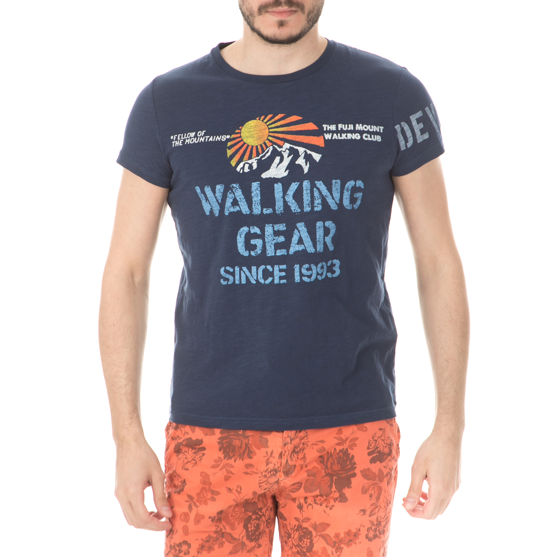 25be591f0309 DEVERGO JEANS - Ανδρική μπλούζα DEVERGO JEANS μπλε