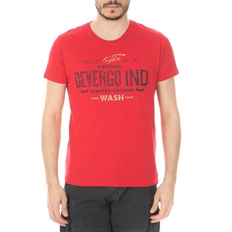2bc4b5e0fd0d Ανδρική μπλούζα DEVERGO JEANS κόκκινη (1748828.0-0045)