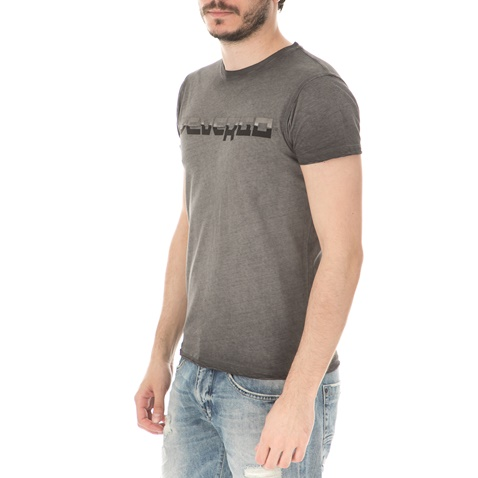 b87f0506a2 Ανδρική μπλούζα DEVERGO JEANS γκρι (1748833.0-8000) | Factory Outlet
