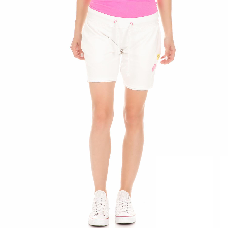 BODYTALK - Γυναικεία αθλητική βερμούδα BODYTALK λευκή