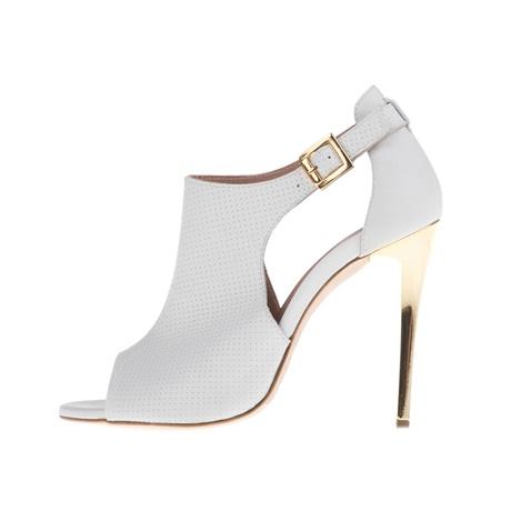 980238f09896 Γυναικεία peep toe ψηλοτάκουνα πέδιλα CHANIOTAKIS COLANDER λευκά  (1749296.0-9100)
