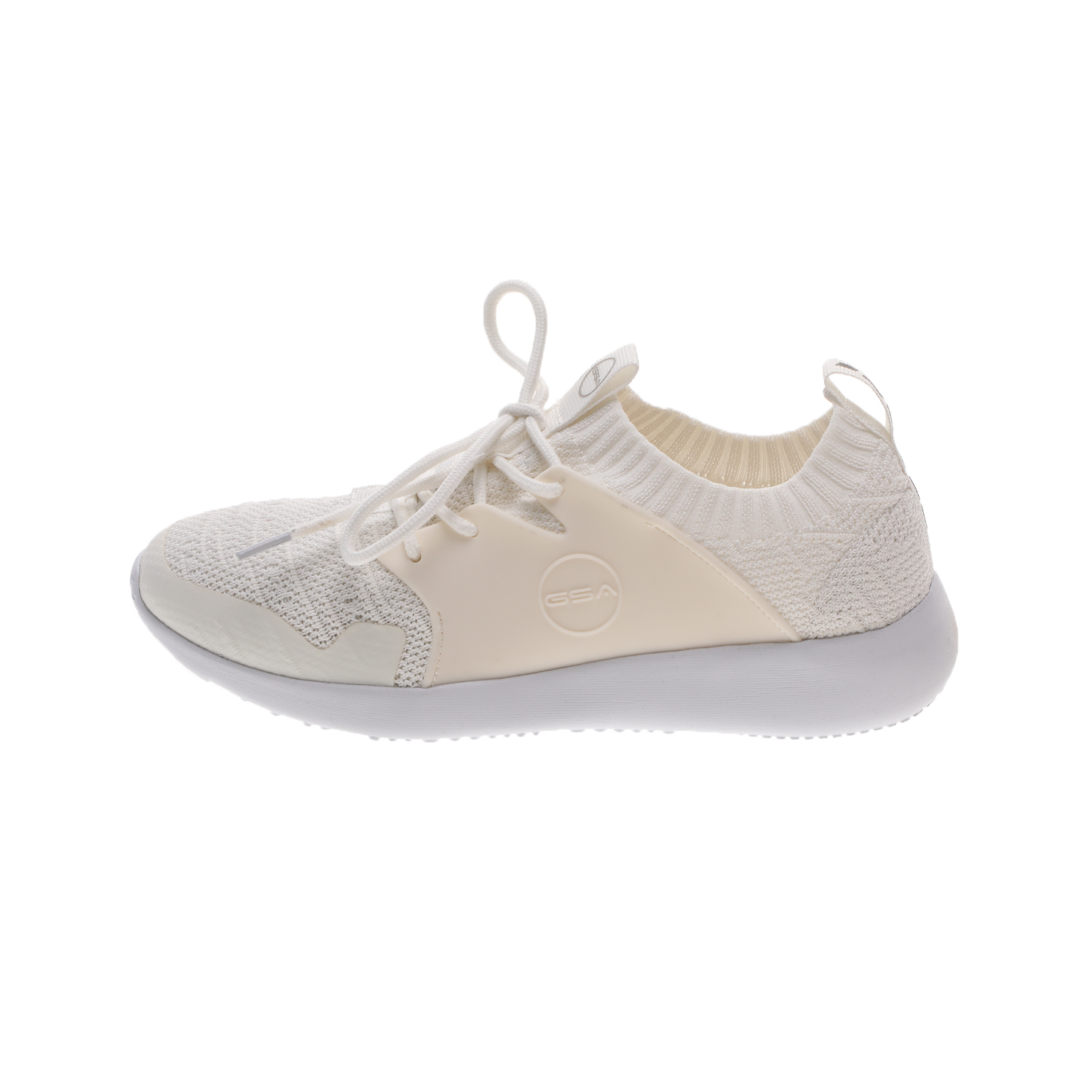 GSA – Unisex sneakers GSA ONE LOW λευκά