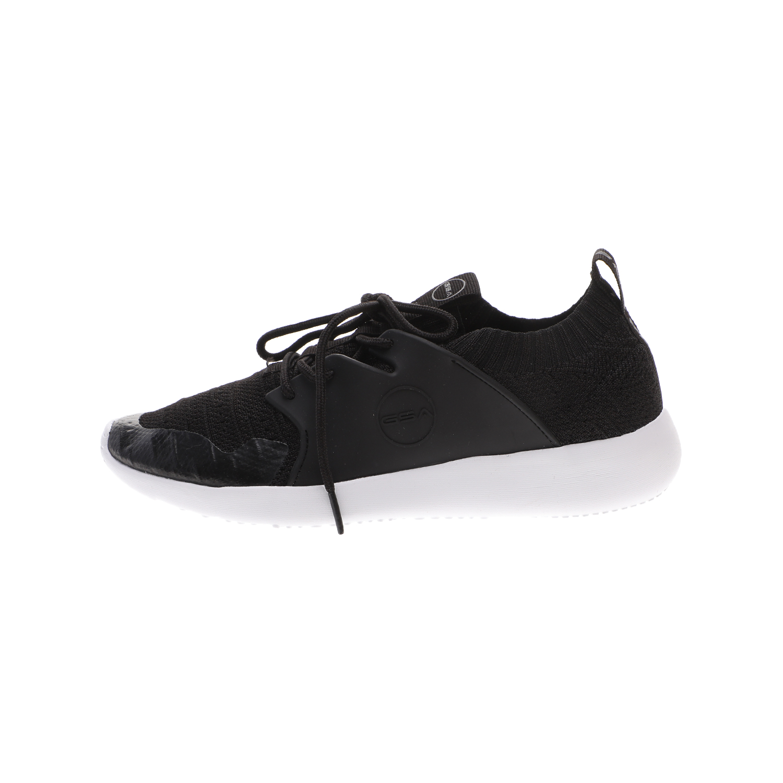GSA – Unisex sneakers GSA ONE LOW μαύρα