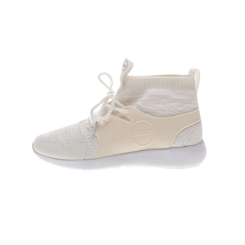 GSA – Unisex sneakers GSA ONE HIGH λευκά