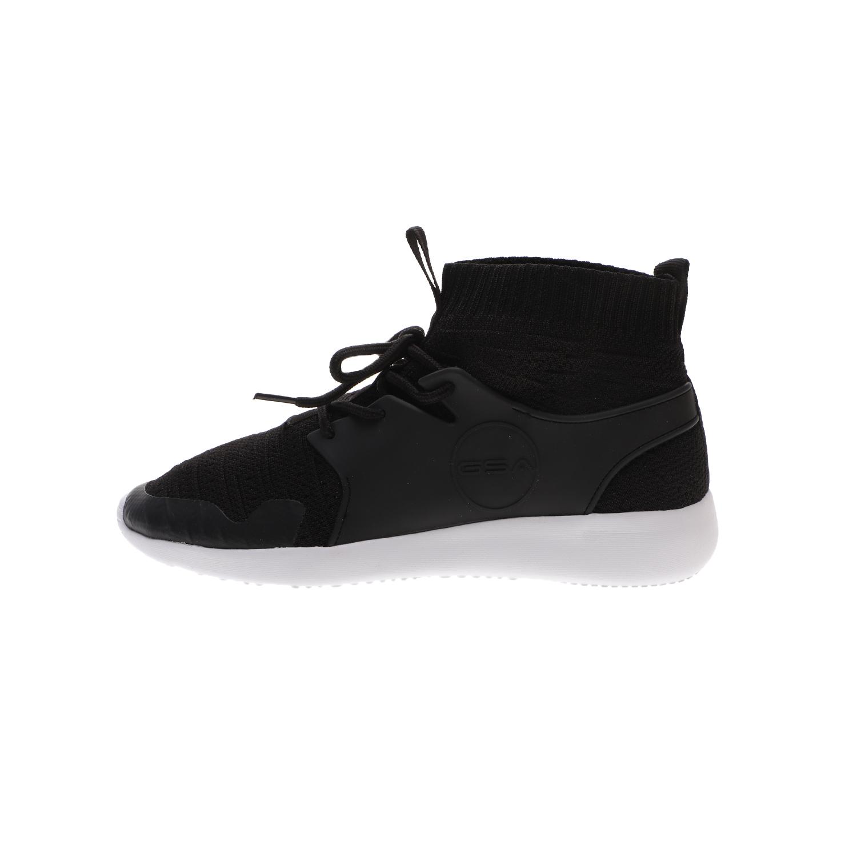 GSA – Unisex sneakers GSA ONE HIGH μαύρα