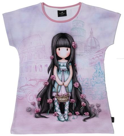 009b98dff37 Παιδική κοντομάνικη μπλούζα SANTORO Gorjuss μοβ (1750035.0-l200) | Factory  Outlet