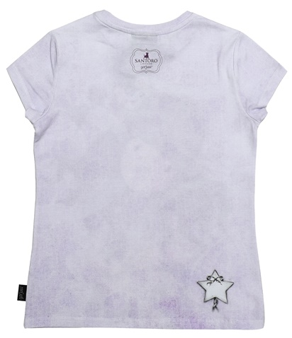 e17f5c0d7d9 Παιδική κοντομάνικη μπλούζα SANTORO Gorjuss μοβ (1750041.0-l200 ...