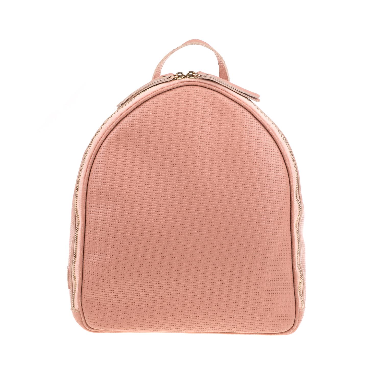 390f4f93b1 CHANIOTAKIS – Γυναικεία τσάντα πλάτης CHANIOTAKIS TRESOR-PLAIT ροζ. Factory  Outlet