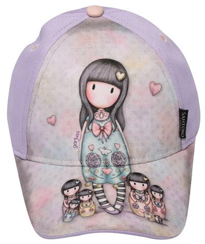 ee27c2052c Παιδικό καπέλο jockey SANTORO Gorjuss μοβ (1750566.0-l200)