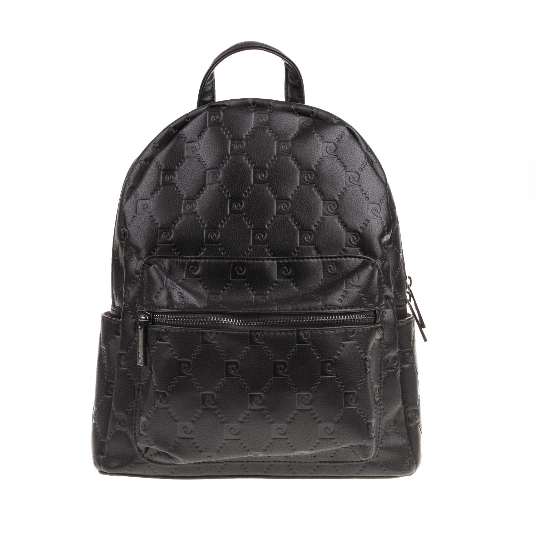 2bbbca8a24 PIERRE CARDIN – Γυναικεία τσάντα πλάτης PIERRE CARDIN μαύρη