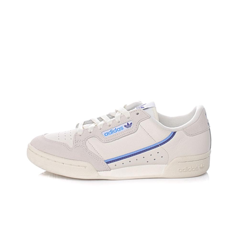 ADIDAS – Γυναικεία sneakers ADIDAS CONTINENTAL 80 λευκά