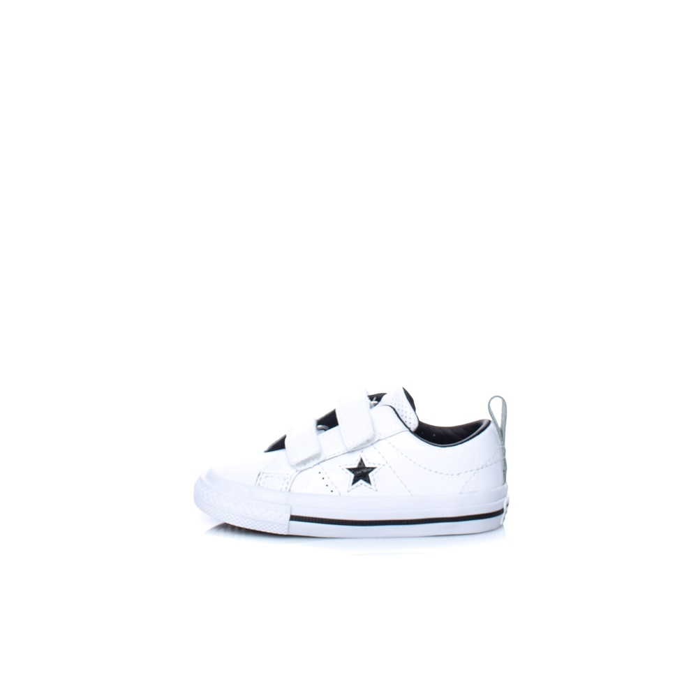 CONVERSE – Βρεφικά sneakers CONVERSE One Star 2V Ox λευκά