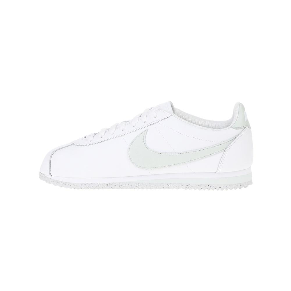 NIKE – Γυναικεία παπούτσια NIKE CLASSIC CORTEZ FLYLEATHER λευκά γκρι