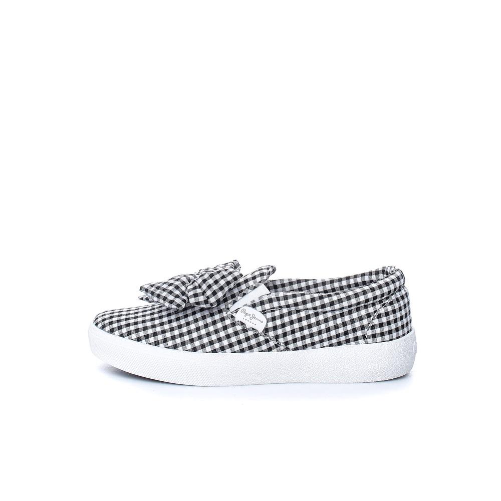 PEPE JEANS – Γυναικεία παπούτσια PEPE JEANS RENE BOW μαύρα