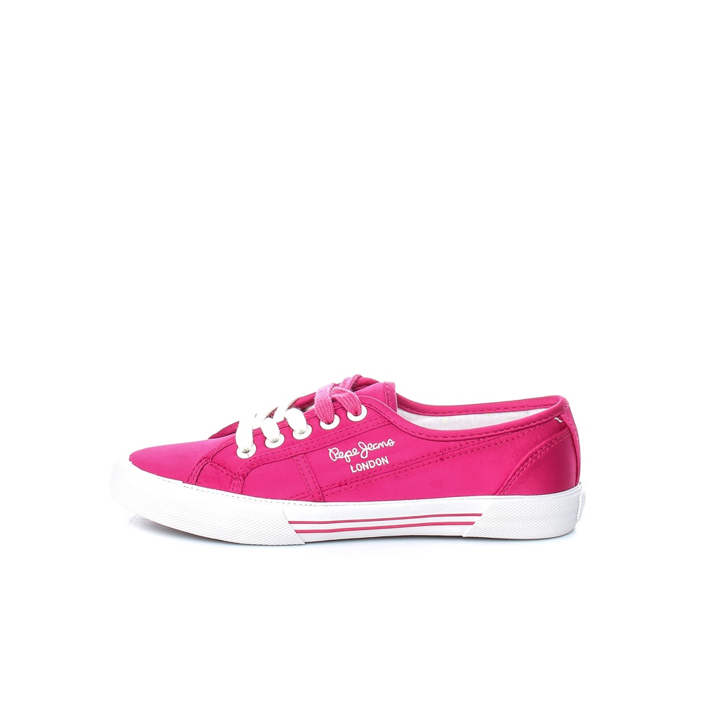 PEPE JEANS – Γυναικεία παπούτσια PEPE JEANS ABERLADY SATIN ροζ