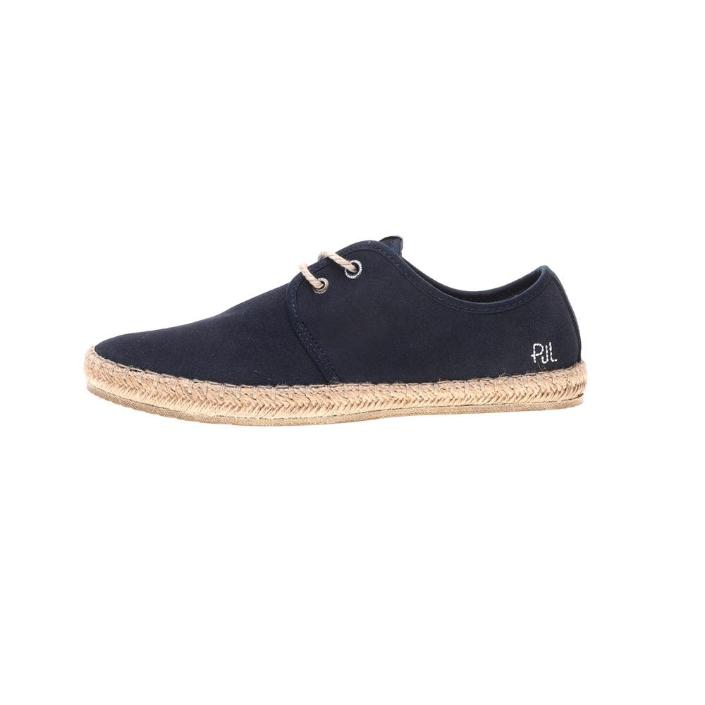 PEPE JEANS – Ανδρικά παπούτσια PEPE JEANS SHOES TOURIST BASIC μπλε