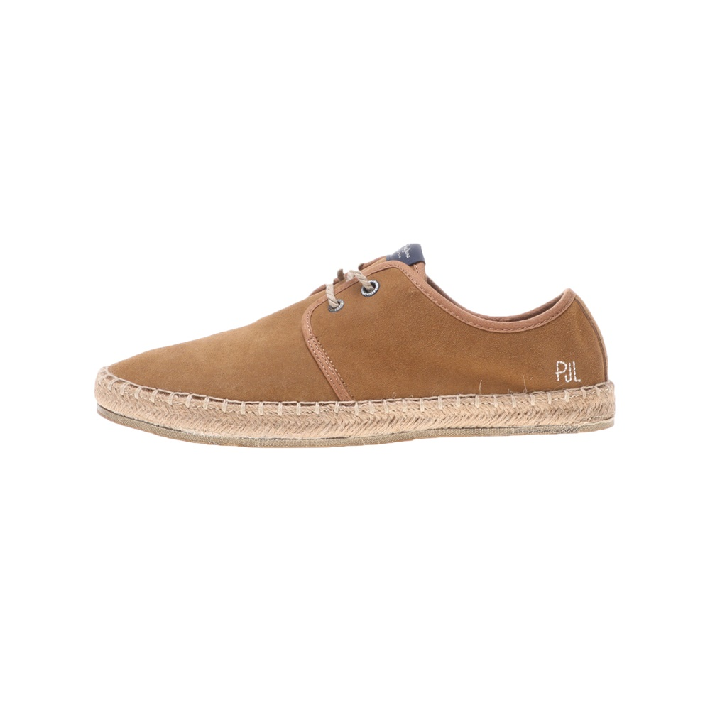 PEPE JEANS – Ανδρικά παπούτσια PEPE JEANS SHOES TOURIST BASIC καφέ