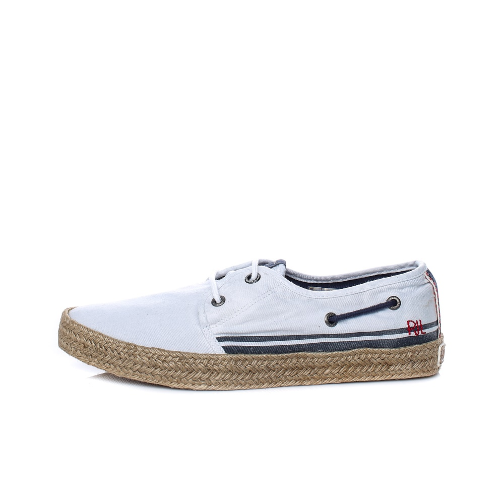 PEPE JEANS – Ανδρικά παπούτσια PEPE JEANS SAILOR DECK CRUISE λευκά