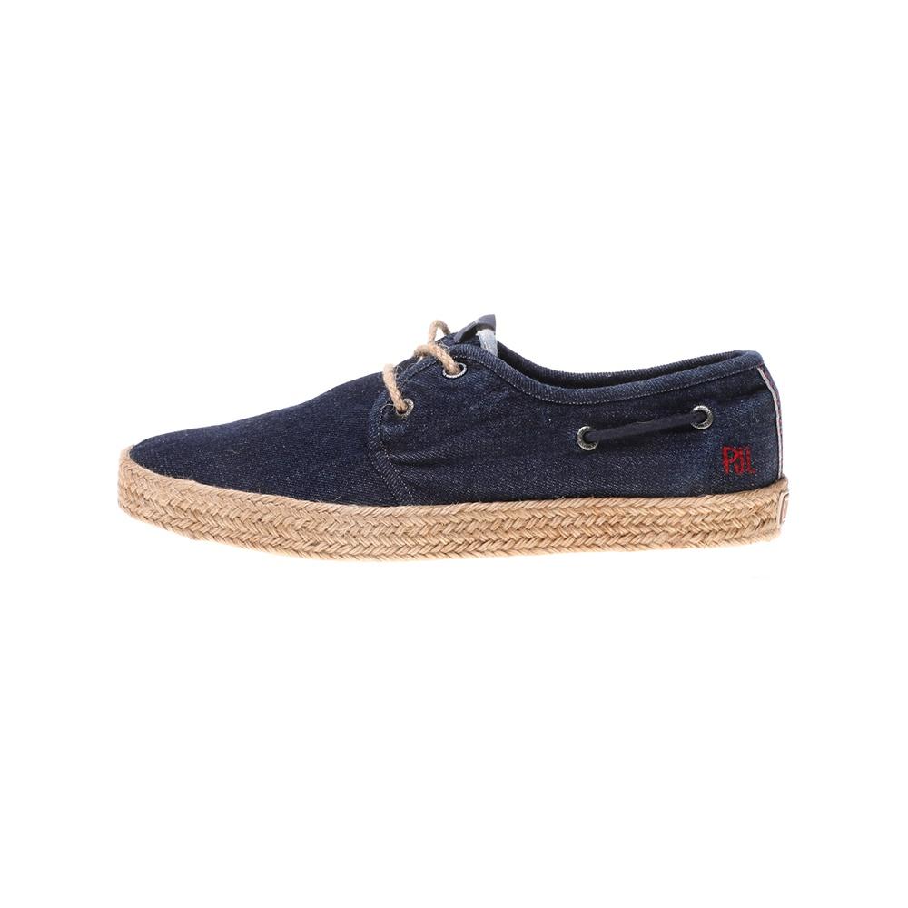 PEPE JEANS – Ανδρικά παπούτσια PEPE JEANS SAILOR DECK DENIM μπλε