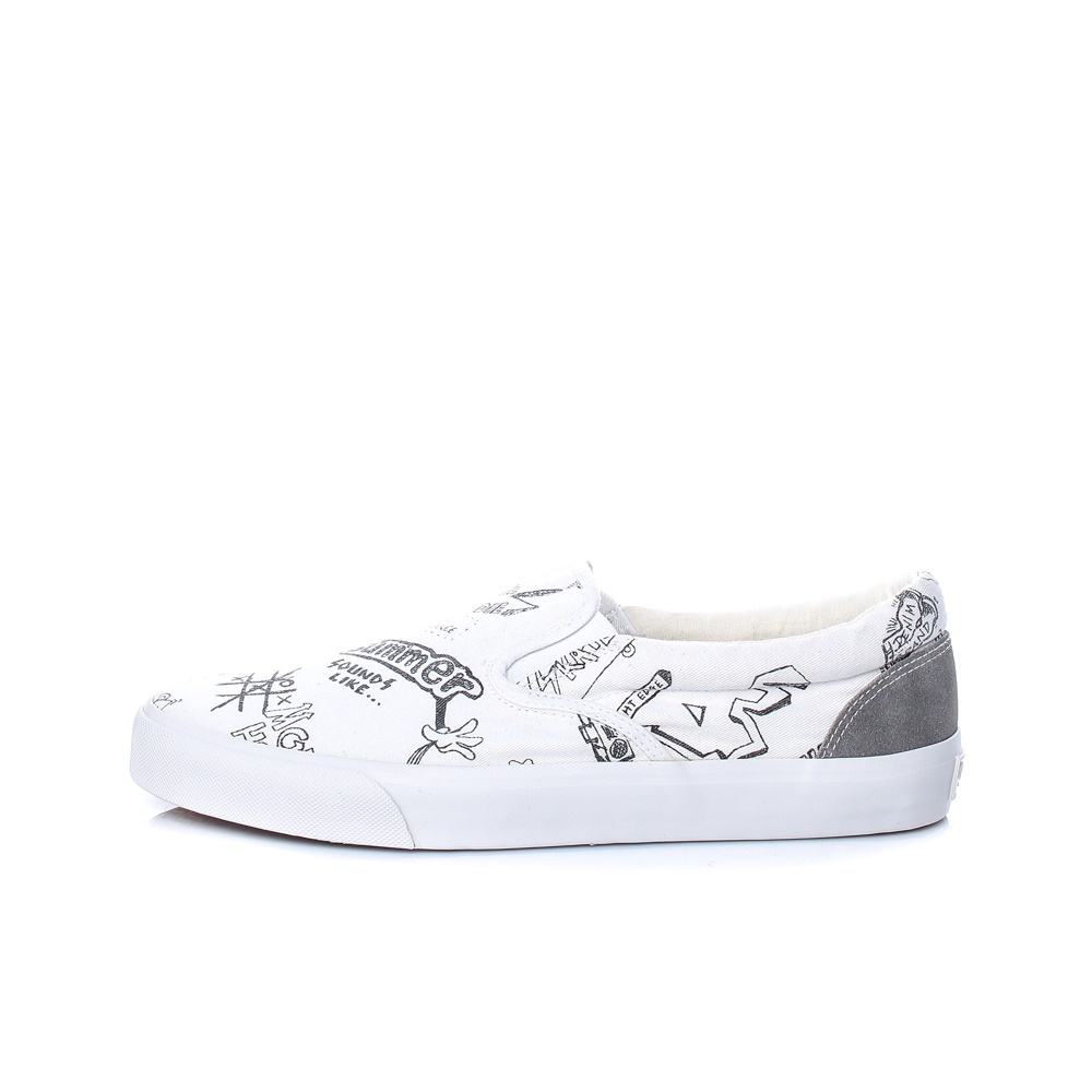 PEPE JEANS – Ανδρικά παπούτσια PEPE JEANS HARRY SLIP ON λευκά