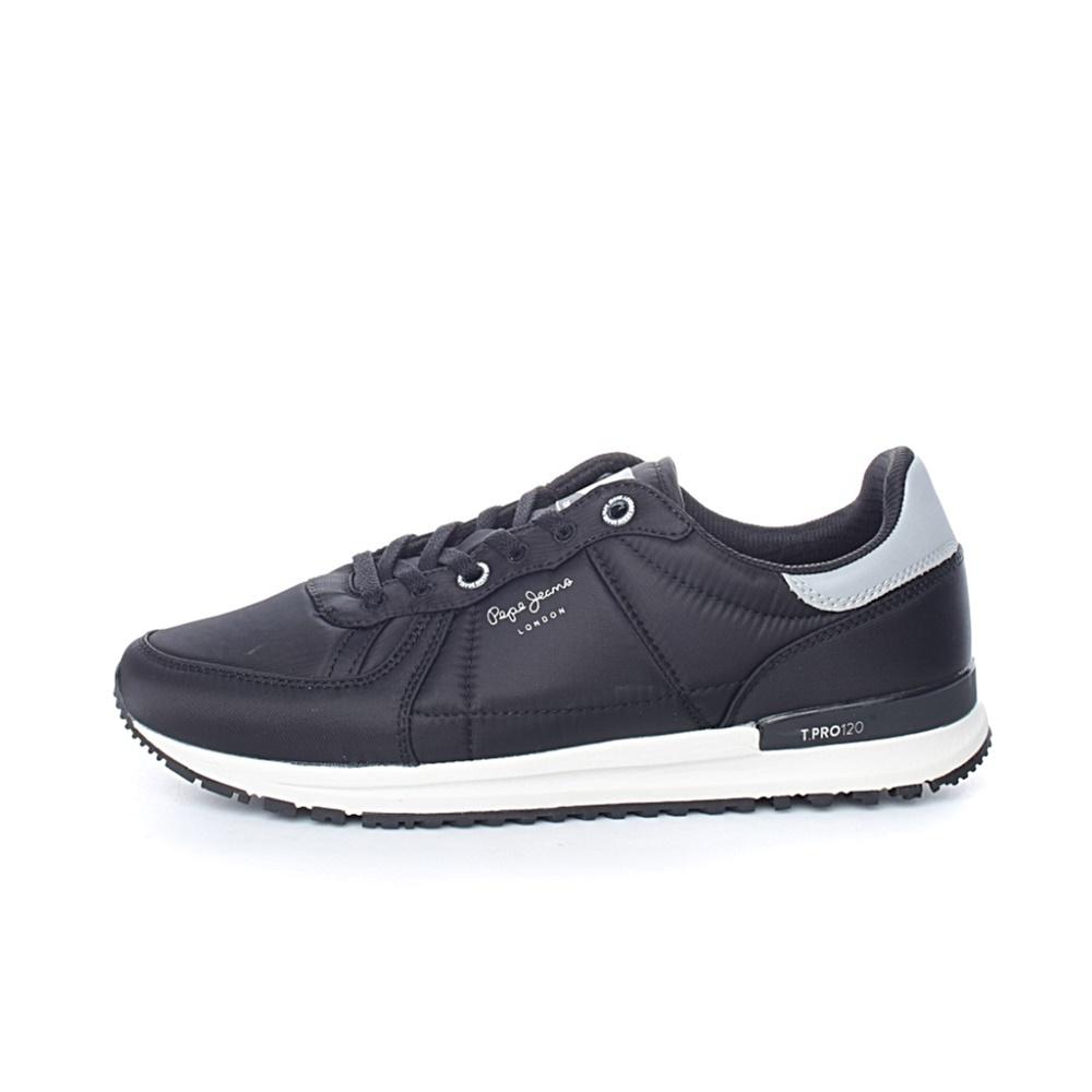 PEPE JEANS – Ανδρικά παπούτσια PEPE JEANS TINKER PRO-WA μαύρα