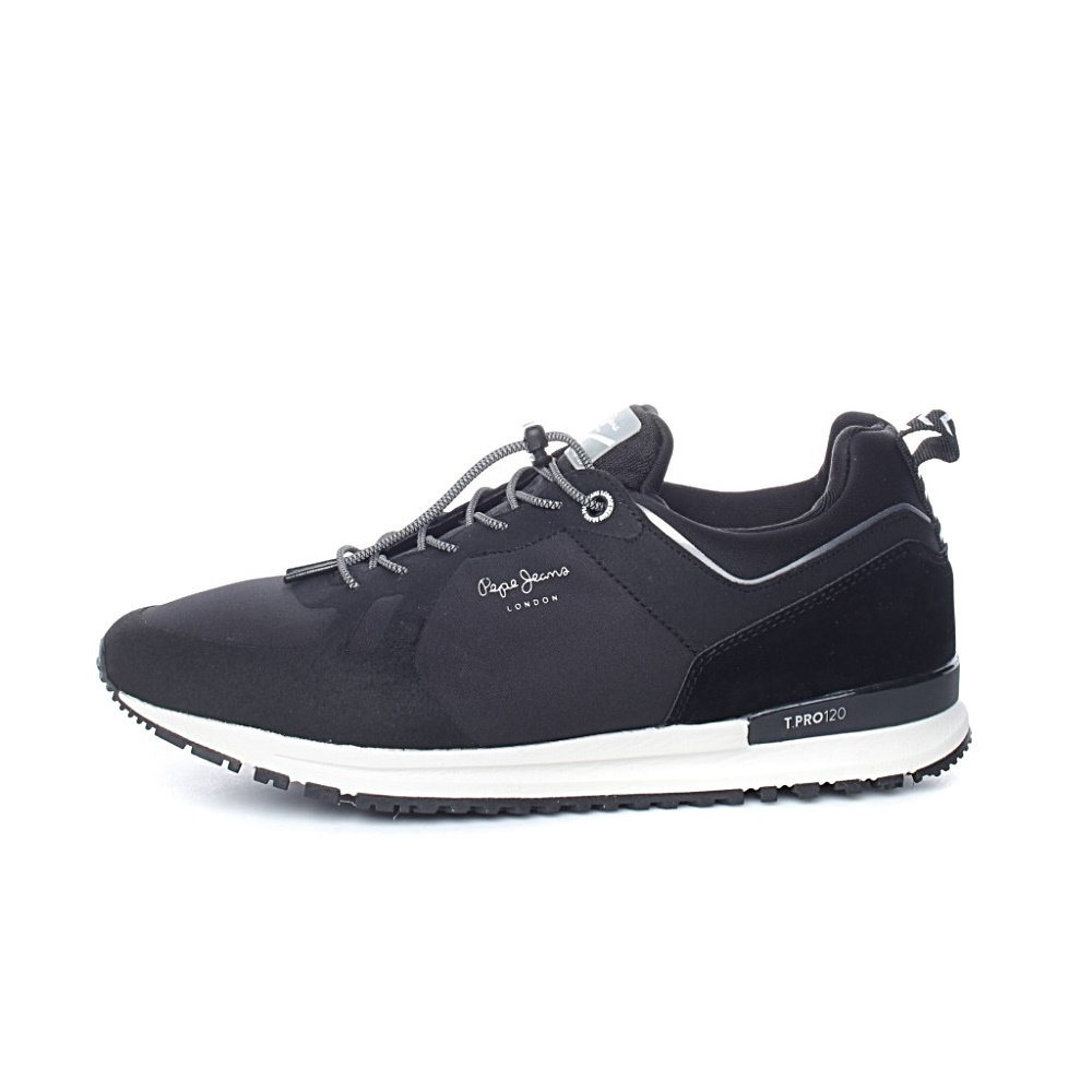 PEPE JEANS – Ανδρικά παπούτσια PEPE JEANS TINKER PRO-BO μαύρα