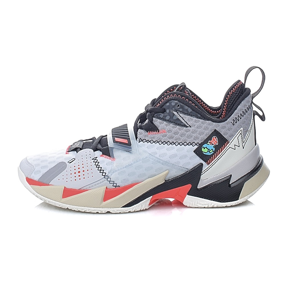 NIKE – Ανδρικά παπούτσια basketball NIKE JORDAN WHY NOT ZER0.3 λευκό