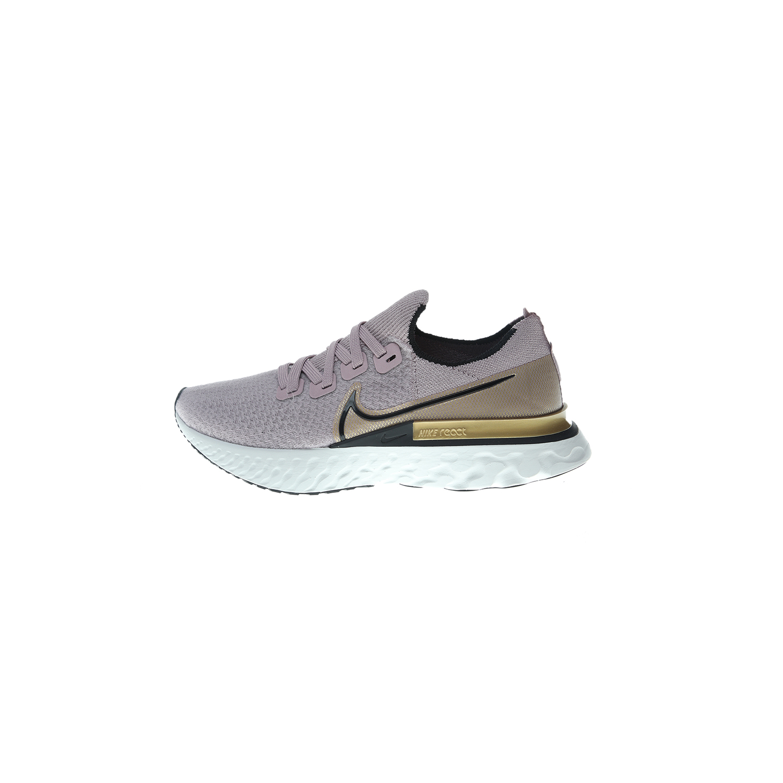 NIKE – Γυναικεία παπούτσια running NIKE REACT INFINITY RUN FK μωβ χρυσά