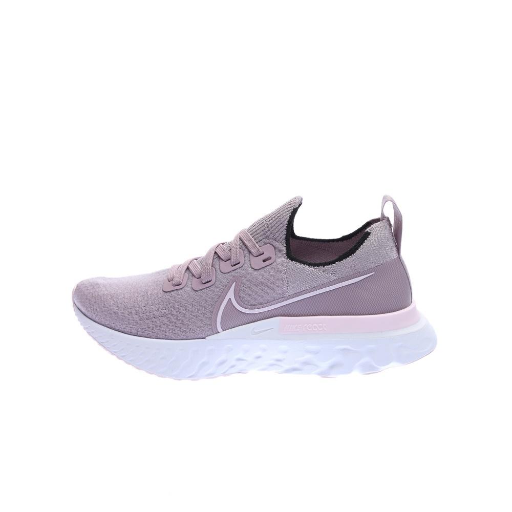 NIKE – Γυναικεία παπούτσια running NIKE REACT INFINITY RUN μπεζ-ροζ