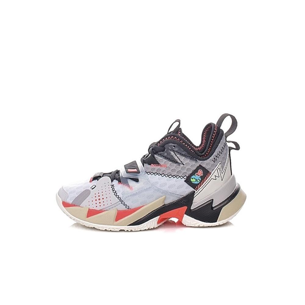 NIKE – Παιδικά παπούτσια basketball NIKE JORDAN WHY NOT ZER0.3 (GS) λευκά μαύρα