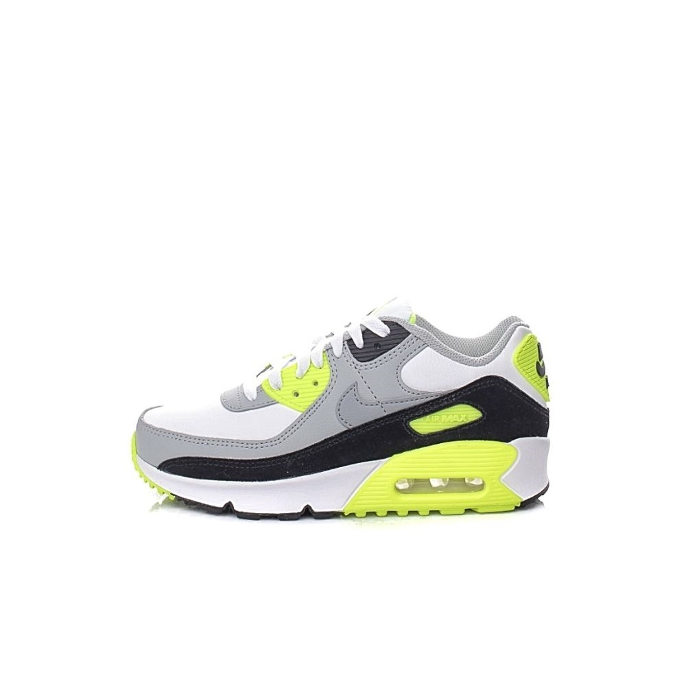 NIKE – Παιδικά παπούτσια basketball NIKE AIR MAX 90 LTR (GS) λευκά γκρι