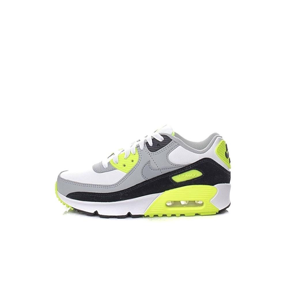 NIKE – Παιδικά παπούτσια basketball NIKE AIR MAX 90 LTR (GS) λευκά γκρι