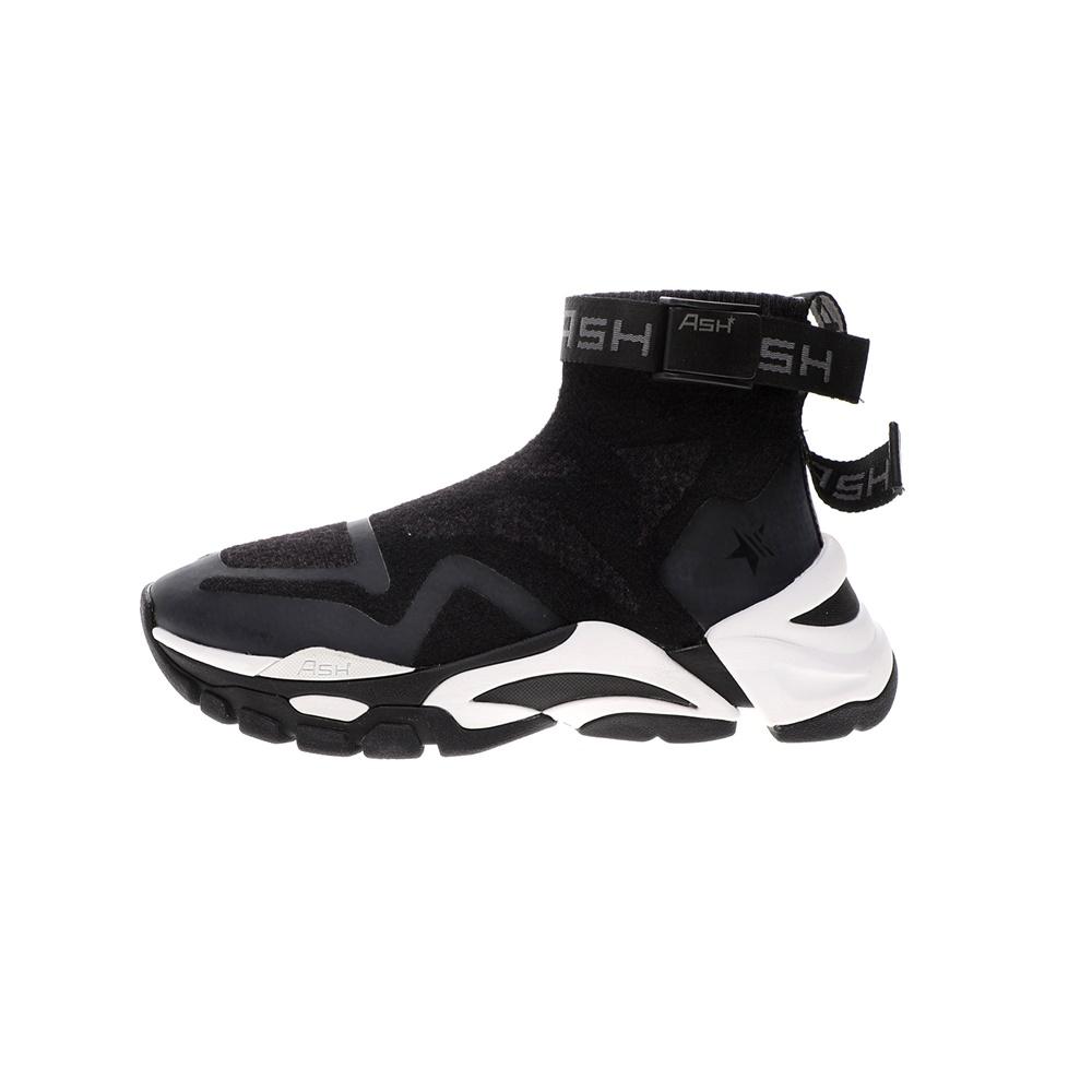 ASH – Γυναικεία μποτάκια sneaker ASH FIRE KNIT DK μαύρα