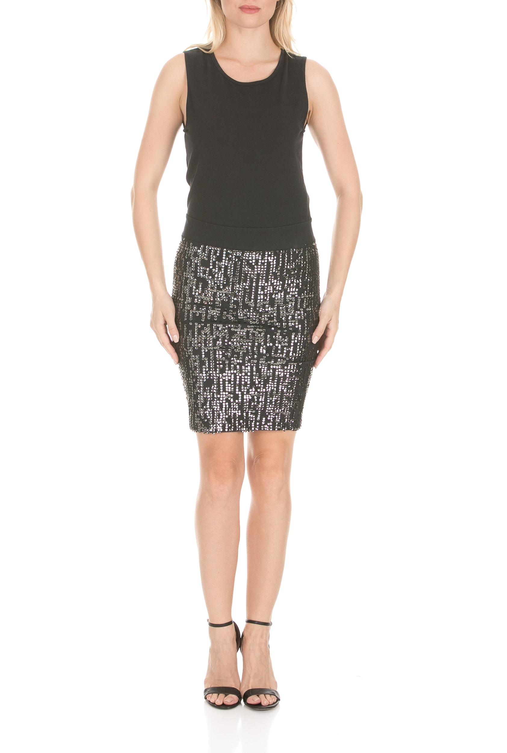 RELIGION - Γυναικείο μίνι φόρεμα RELIGION ASTRO μαύρο