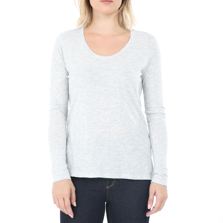AMERICAN VINTAGE - Γυναικεία μπλούζα AMERICAN VINTAGE γκρι