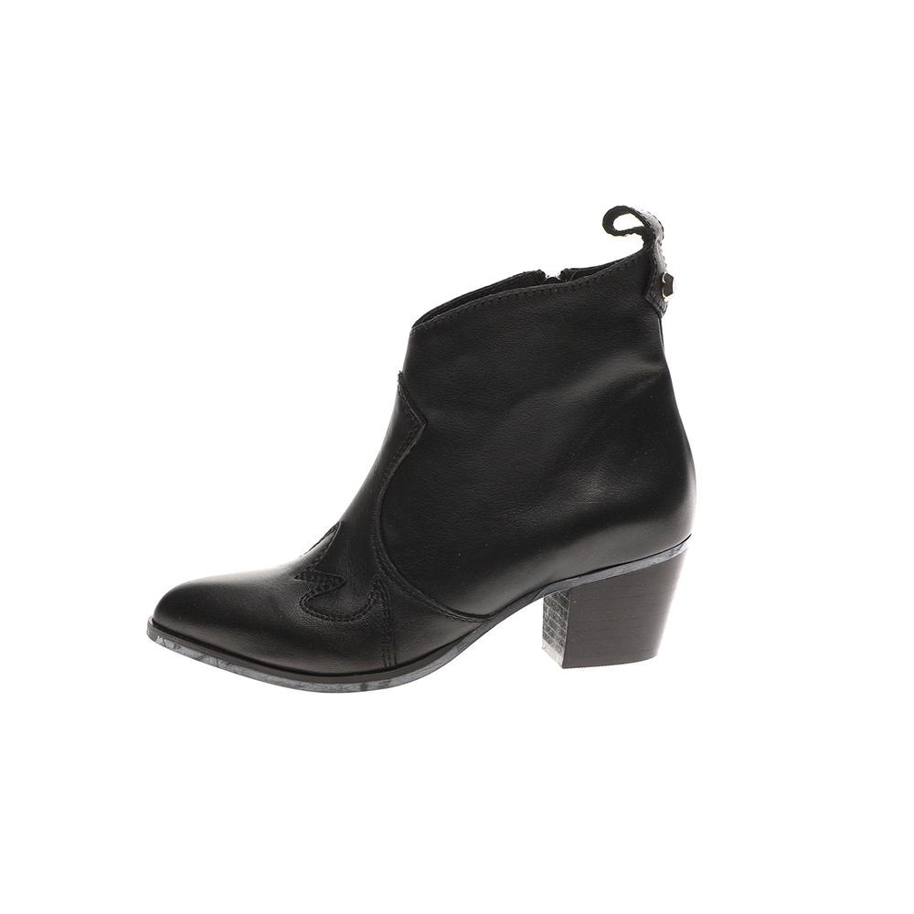 WALL STREET – Γυναικεία μποτάκια ADAMS WALL STREET μαύρα