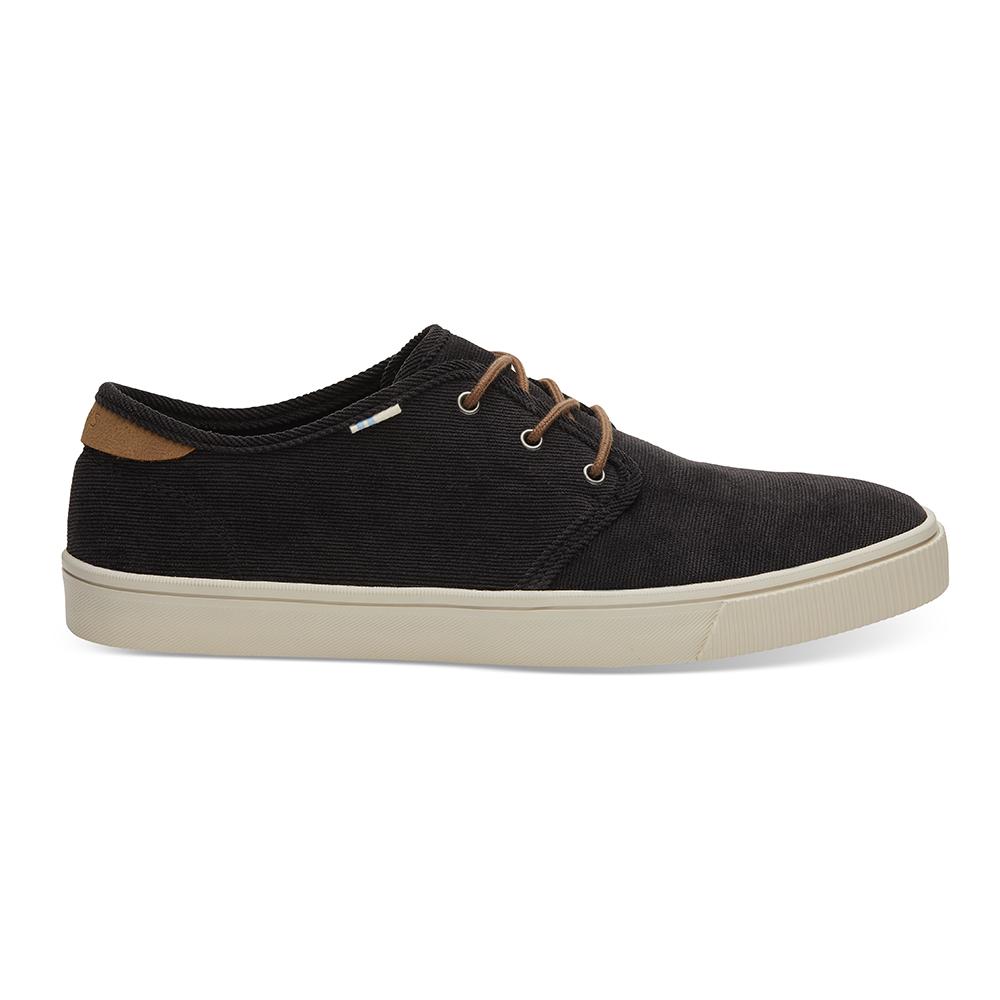 TOMS – Ανδρικά loafers TOMS MICRO CORDUROY μαύρα