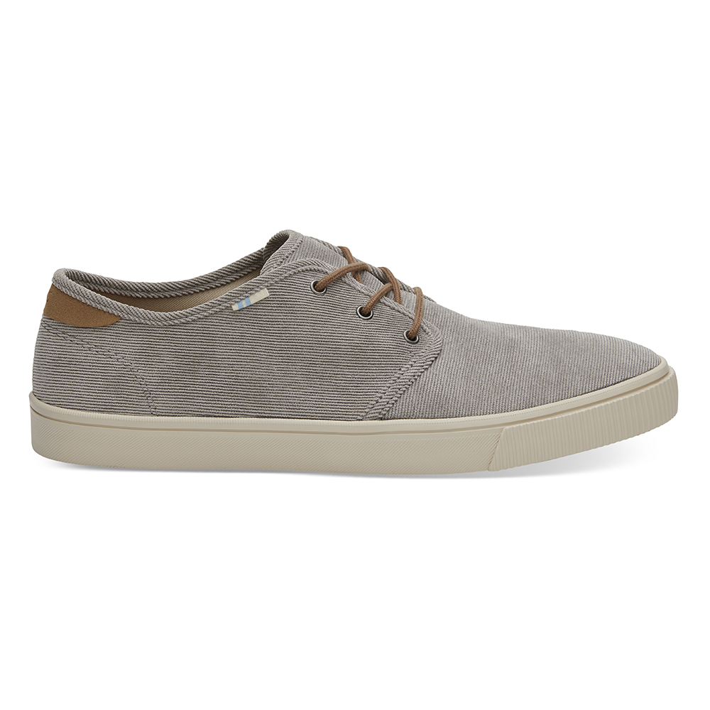 TOMS – Ανδρικά loafers TOMS CEMENT MICRO CORDURO γκρι
