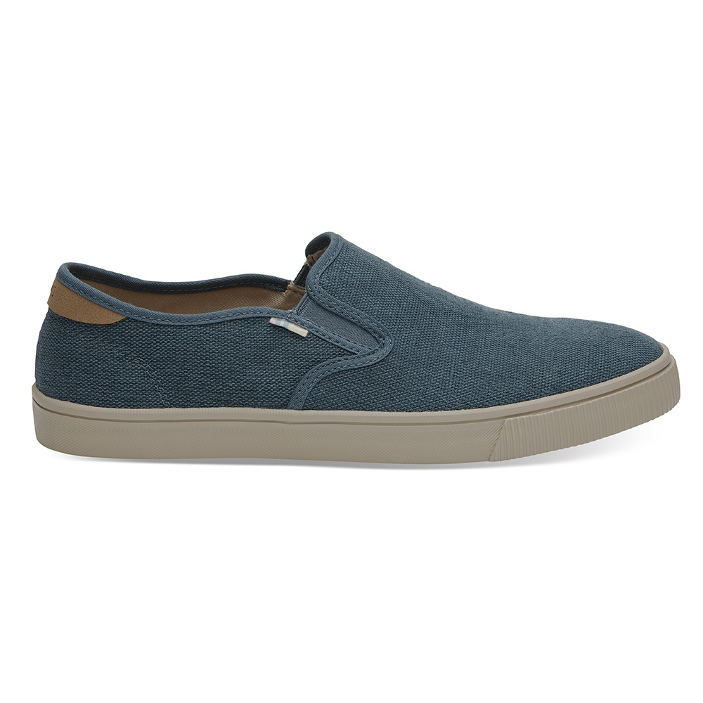 TOMS – Ανδρικά sneakers TOMS ATLANTIC HRTG CNVS MN BAJA μπλε